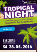 tropical night 2016
